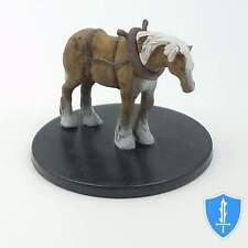 Draft Horse - Rusty Dragon Inn #26 Pathfinder Battles D&D Miniature