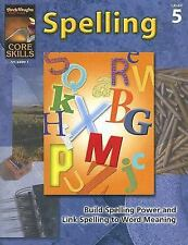 Core Skills - Spelling 5th Grade 5 by Harcourt Achieve 2007 Paperback Student...