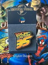 2020 New Universal Studios Back To The Future 35th 35 Years Anniversary Pin