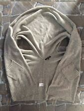 mag*smagasin Open Front Hoodie Cardigan Wool Short Sleeve Scandinavian Design XL