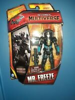 "DC Comics Multiverse Batman Arkham City - Villain/Ally MR FREEZE 3.75"" New MOC"