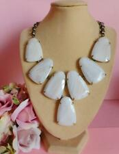 Kendra Scott HARLOW Banded Agate Necklace NWT