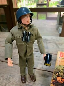 VINTAGE 1964 GI Joe Action Soldier Marine with Box Hasbro