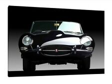 E-Type Jaguar - 30x20 Inch Canvas - Print Framed Picture Classic Car Art