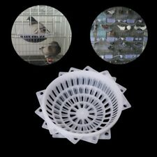 4Pcs Plastic Pigeon Nest Breeding Cage Canary Supplies Birds Hatch Tools Basin