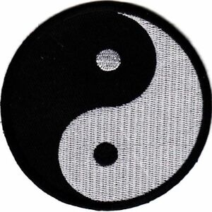 Martial Arts Embroidered Badges - Yin Yang Gi Patches Uniform Suit