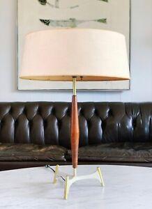 Gerald Thurston Lightolier Table Lamp