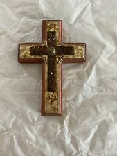 "New ListingVintage Hanging Cross 6"" By 4"" Wood Other Materials"