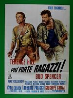 M61 Manifesto 2F Mehr 'Starke Jungs Terence Hill Bud Spencer Giuseppe Colizzi