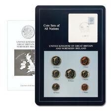 Great Britain & Northern Ireland Type Set & Postal Cache 7 Coins BU Descriptive