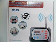 New listing Intelligent 2-in-1 DogTraining Outdoor Wireless Fence System Q50S 2ReciverCollar