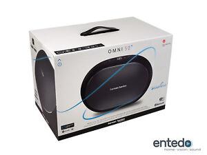 Harman Kardon Omni 50+ Kabelloser Lautsprecher WLAN Bluetooth Multi Room Plus