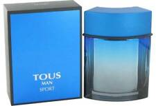 TOUS MAN SPORT by Tous for Men 3.4 oz edt 3.3 New In Box