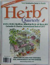 Herb Quarterly Summer 2017 Exploring Herbal Energetics Healing FREE SHIPPING sb