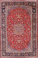 One-of-a-Kind Traditional 8x12 Najafabad Wool Rug Oriental Floral 11' 9 x 7' 7