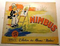 NIMBUS Album n°3 - Editions I.P.C. 1944. André DAIX.  RARE. Très bon état