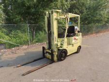Mitsubishi Fgc20 Lpg 4,000 lbs Warehouse Industrial Forklift Lift Truck bidadoo