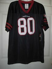 Houston Texans Team Apparel #80 Johnson Printed Jersey, Size Youth XXL,New w/Tag