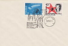 Poland postmark LECZYCA - civic rights millennium knight