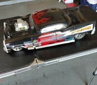 funny car drag dragster megatech rare  mint condition 57 Chevy after burner