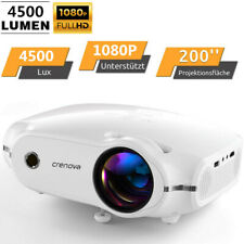 3D LED Projektor Support 1080P Image Multimedia Heimkino-Beamer Video Weiß