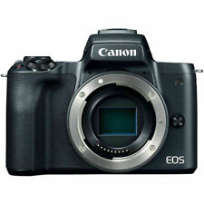 Canon EOS M50 Mirrorless Digital Camera (Body Only, Black) - NEW