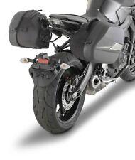 Yamaha MT-09 2017 GIVI TST2132 PANNIER RACK + ST601 Sport-T sidecase bags cases