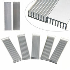 100*25*10mm Aluminum Heatsink Cooling for COB LED Grow light Chip heat sink