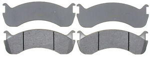 NEW ACDELCO ADVANTAGE 14D786M DISC BRAKE PAD SET-SEMI-METALLIC REAR FRONT
