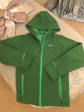 HI GEAR UNISEX HOODED TOP - GREEN - Age 7-8 LIGHTLY USED VERY GOOD CONDITION