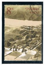 CHINA 2002 Yellow River Dams $8.00 FU (From S/S)