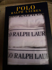 Polo Ralph Lauren Mens 3 Pack Classic Pouch Trunk Stretch Cotton Boxer Shorts XL