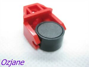 LEGO PART 2607 73092 MAGNET HOLDER WITH MAGNET RED