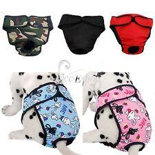 Pet Dog Pants Season Heat Menstruation Period Knicker Bitch Sanitary Nappy S- XL