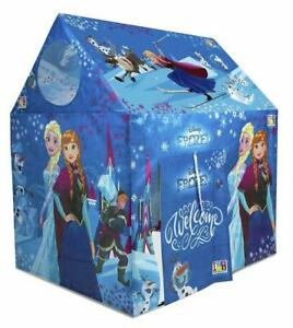 Playhouse Pipe Tent For 3 Years- 8 Years Kids, Frozen,Multicolor Free Shipping