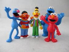 Comansi Spiel Set 5 Figuren Sesamstraße Elmo Grobi Ernie Bert Krümelmonster