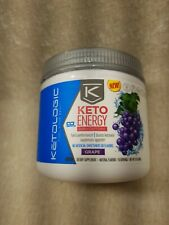 KetoLogic Keto Energy BHB Caffeine - Grape 3 oz  02/21
