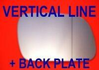 PEUGEOT 307/ 407 2000-2010 SPIEGELGLAS WEITWINKEL + PLATTE RECHTS ODER LINKS