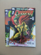 Creeper , The  1- 6 . Lot Complet . DC  2006 / 07  . VF