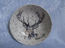 ROYAL STAFFORD ARTHUR THE STAG PATTERNED BEIGE NATURAL 7.6 INCH BOWL DISH NEW
