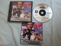 PlayStation PS1 PSX  TEKKEN 2 Boxed  w/ manual video game