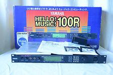 Yamaha MU100R Tone Generator XG Sound Module Synthesizer MU100 w/ box