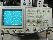 Tektronix 2465 300MHz4 Channel Oscilloscope in FINE condition.