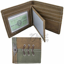 Kay Gurt Fashion Wallet Military Style Gents Boys Fun Lace String Credit Card ID