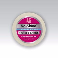 """The Walker Co. No Shine Hair Extensions Wigs Tape 1/3"""" x 6 Yards Roll x 2 Roll"""