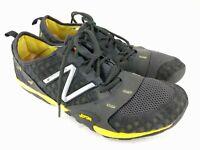 New Balance MINIMUS Mens Sz 10.5 Trail Running Black Yellow Shoe MT10GY