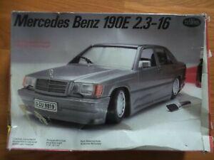 Testors Mercedes Benz 190E 2.3-16  1/24 Scale