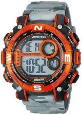 Armitron Men's Grey Camo Resin Watch, 100 Meter WR, Chronograph, 40/8284CGY