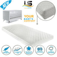 COT BED FOAM MATTRESS BREATHABLE MATTRES FOR KIDS COT BED Available ALL SIZES