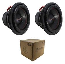 "2 x 12"" Subwoofer 4000W 3"" 2 Ohm DVC Pro Car Audio Bass American Bass XFL-12-D2"